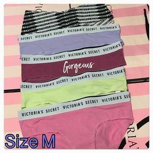 Victoria's Secret Cheeky Panty bundle.